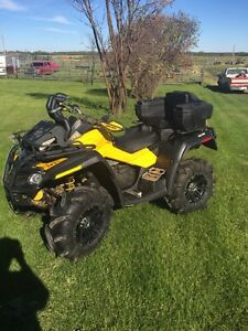 2011 Can am Outlander 800 xmr