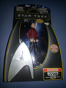 brand new in box scotty from star trek.SEE MY OTHER ADS!!!!!!!!!