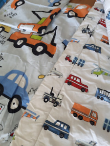 Transportation Bed Cover Set with Comforter $25