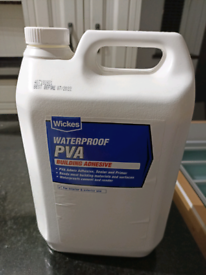 Waterproof PVA building adhesive