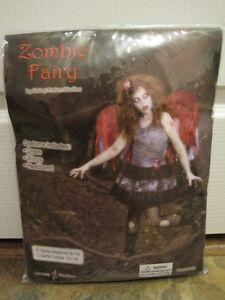 Zombie Fairy costume - size child Medium (8-10)