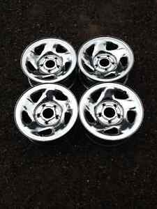 Dodge 16 inch chrome rims