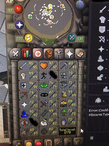 OSRS - ACCOUNT - 95att/99str/94def/90mage/99cook/99fletch/ 1778T West Island Greater Montréal image 5