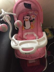 Baby bouncher chair