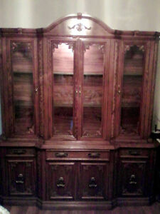 Mint condition China cabinet