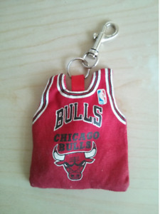 Chicago Bulls Coin Wallet with key chain