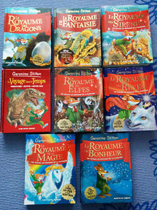 Lot de livres de Geronimo Stilton