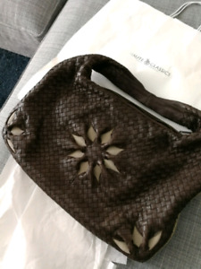 Brand bew designer handbag Bottega Veneta sun flower intrecciato