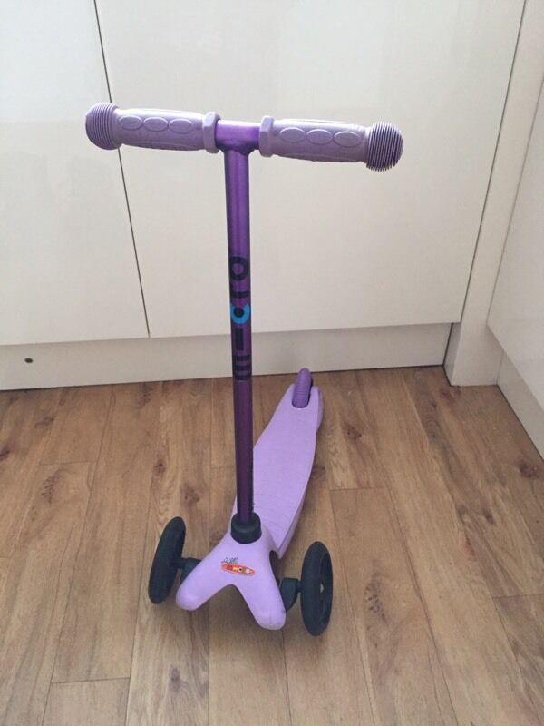 Mini micro scooter purple, limited edition | in lichfield.