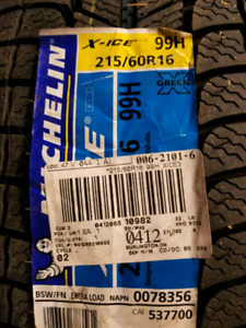 Brand new Michelin Xi3 winter tires