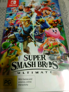 Super smash Bros ultimate for Nintendo switch. Physical cartridge