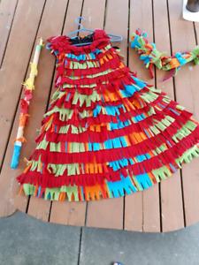 Homemade pinata Halloween costume (size 10-12 ladies)