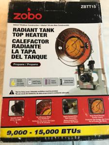Radiant Propane Tank Top Heater (Buddy Heater)