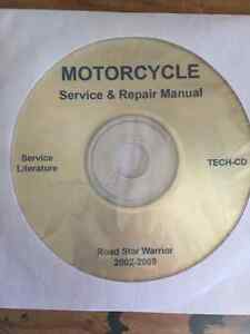 Motorcycle Service & Repair CD Manual