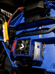 RC Traxxas Velineon VXL-3S ESC & Velineon 3500 motor + fan
