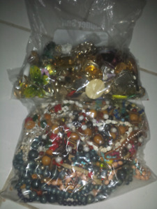 Bulk xl bags of costume jewelry for resell or crafting
