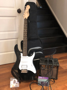 Yamaha Guitar with Amp and Accessories