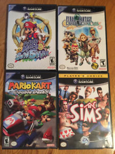 GameCube Video Games SOLD PENDING PICKUP