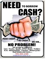 Need Cash? Car title loans available