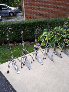 5 Pearl Chain drive hi-hat stands for drum sets