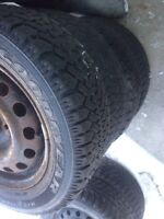 4 tire dhiver 14 po