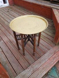 Ali baba table foldable