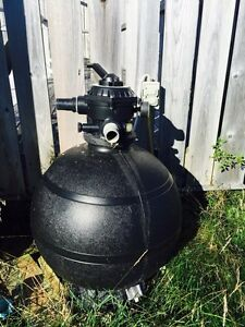 Pool pump, filter, chemicals, solar blanket etc.