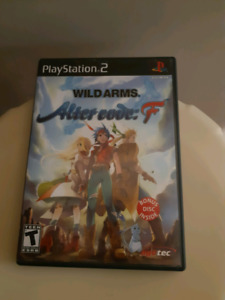 Rare PS2 Wild Arms Alter Code F w/ Bonus Anime Disc
