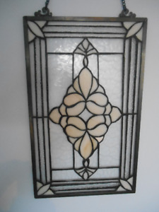 Stained glass leaded hanging