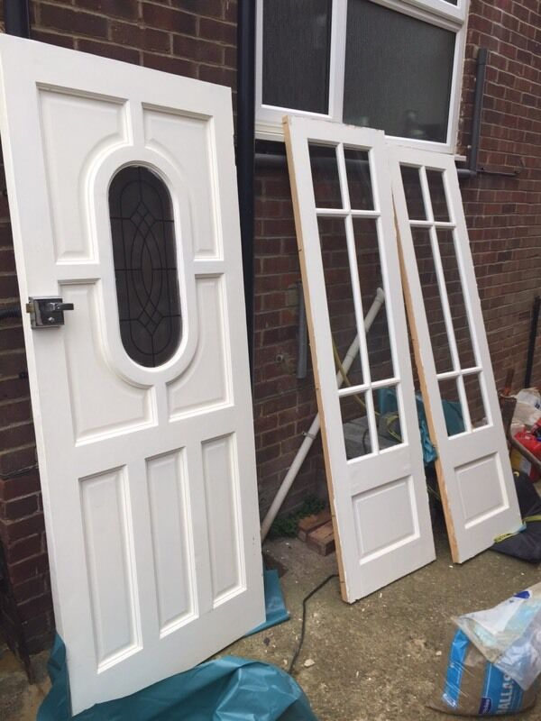Solid Wood Front Door Amp Side Panels In Portslade East