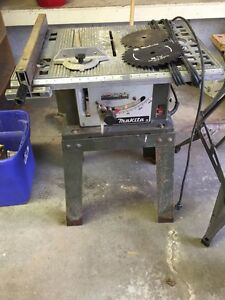 Table saw & Radial arm saw