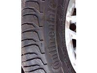 Ford Transit Custom Wheels & Tyres