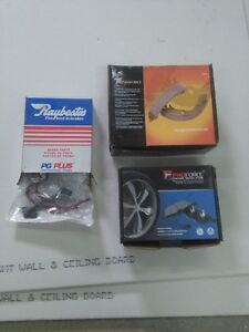 pads, shoes and shoe spring kit with hardware