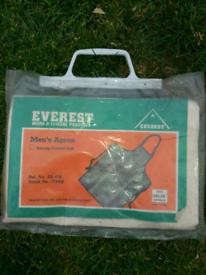 Men's apron - cotton £3 o.n.o