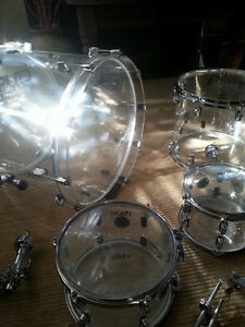 Crush 4 piece acrylic kit w/ custom LED lights