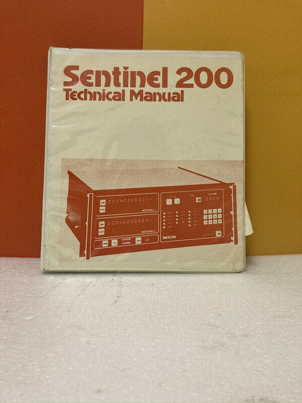 Inficon Sentinel 200 Technical Manual