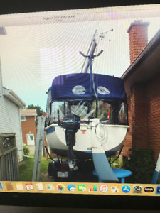22 foot tanzer sail boat for sale