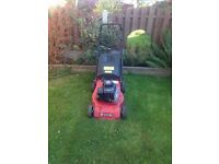 Petrol push lawnmower for sale