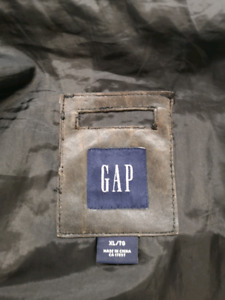 Gap Leather Jacket for sale