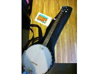 Ozark 5-string open back banjo