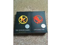 The Hunger Games and Catching Fire books