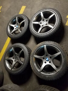 Brand New Winter Tires 225/45/R17 W/ Mags BWM M5/535i/550/640/65