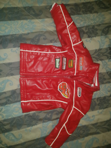Cars faux leather jacket