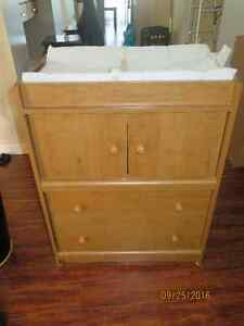 Baby Changing Table/Dresser & 2 Pads
