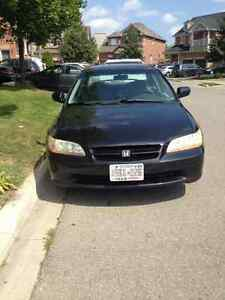 2000 Honda Accord Family car Sedan