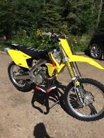 2015 Suzuki Rmz 450 Low Hours