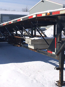 2007 Kaufman 3 car wedge trailer hauler Money Maker Priced WELL
