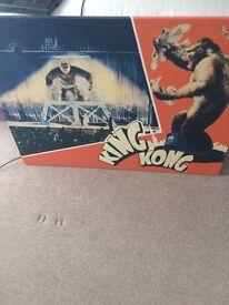 King Kong canvas/poster £5