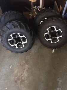 2013 canam tires and rims