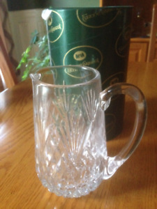 Tyrone crystal water jug